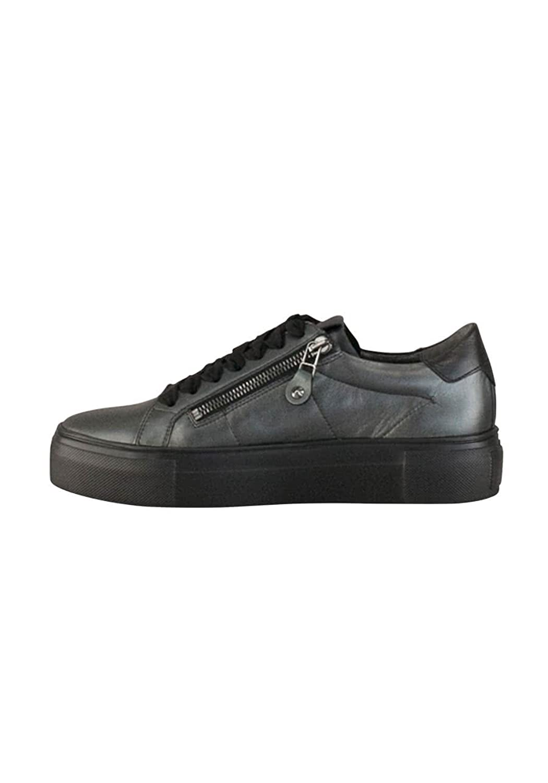 Kennel & Schmenger Sneaker Big Leder Schnürer Reißverschluss Graphit Größe 37 uPZJjCWOeN