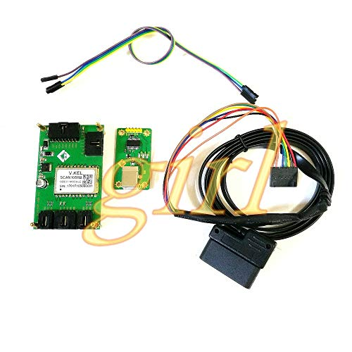 Lysee OBD2 module SCAN105RB test board program development board OBD2 vehicle d iagnostic tool