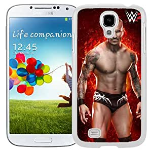 Customized Samsung Galaxy S4 I9500 Cell Phone Case Wwe Superstars Collection Wwe 2k15 Randy Orton 07 in White Phone Case For Samsung Galaxy S4 Case