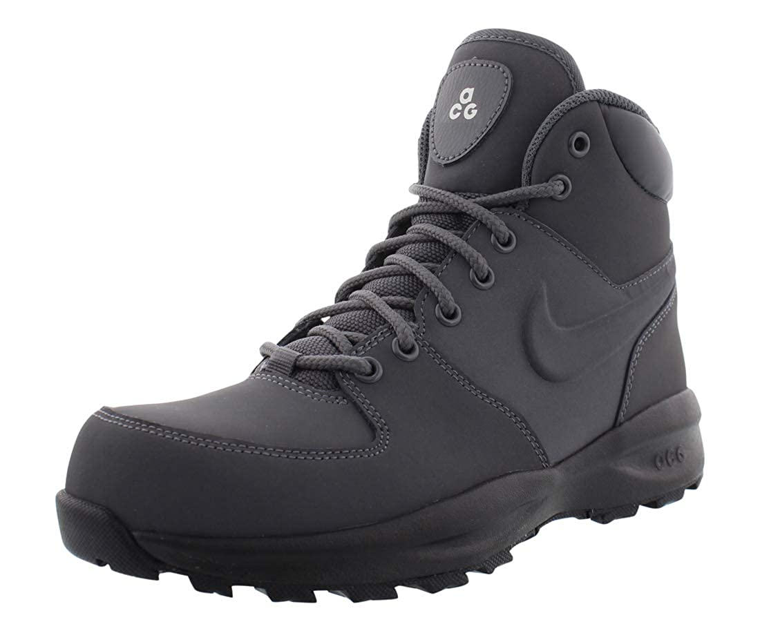 muy elogiado comprar lo mejor super barato se compara con Nike Manoa LTH Dark Grey/Dark Grey-Black-Sail (GS) (6 M US Big Kid ...