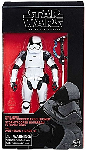 Star Wars The Black Series First Order Stormtrooper Executioner (The Last Jedi) Action Figure 6 Inches