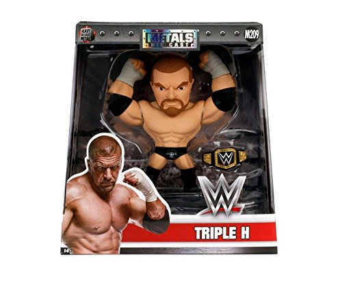 NEW 6'' JADA TOYS ACTION FIGURE COLLECTION - METALS WWE TRIPLE H (M209) Action Figures By Jada Toys by ACTION FIGURE By JadaToys