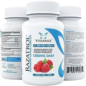 Amazon.com: Razatrol Raspberry Ketones Diet Pills with