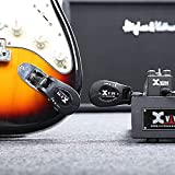 Xvive U2 rechargeable 2.4GHZ Wireless Guitar System - Digital Guitar Transmitter Receiver bundled with Instructions manual