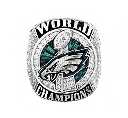 - A.TATOON AE 2017-2018 Philadelphia Eagles ring Championship ring Sz. 7-15 Name (11)