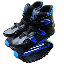 MIAO Jumps Rebound Shoes - Outdoor Youth Sports Bounce Fitness Kangaroo Jumping Shoes