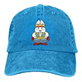 lightly Bag Max and Ruby PrinceMax Trend Printing Cowboy Hat Fashion Baseball Cap for Men and Women RoyalBlue