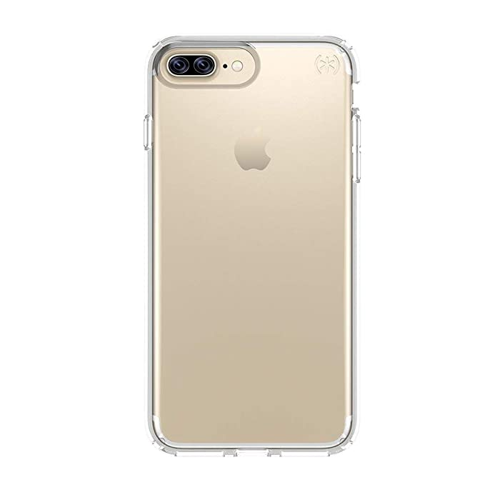 promo code 6de53 2f1ca Speck Products 79982-5085 Presidio Clear Cell Phone Case for iPhone 7 Plus  - Clear