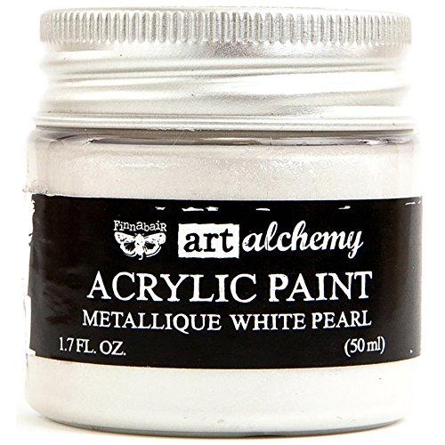 Prima Marketing Art Alchemy - Metallique - White Pearl