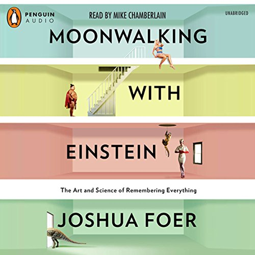 Bargain Audio Book - Moonwalking with Einstein
