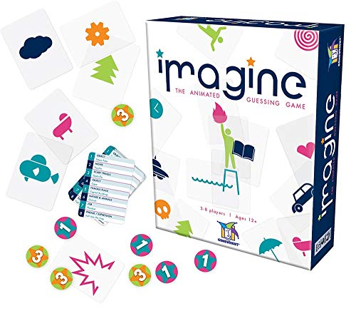 Imagine - The Visual Charades Game Card -