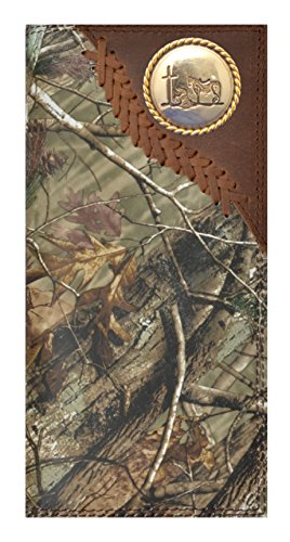 Custom Badger Praying Cowboy Church Long Rodeo Wallet Hand Tooled Long by Genuine Texas Brand