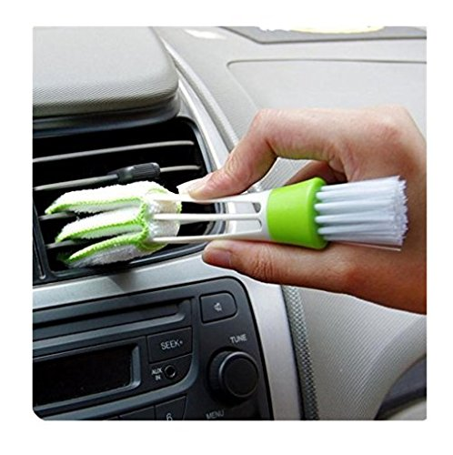 NYKKOLA Multifunction Cleaning Brush For Car Indoor Air-condition Car Detailing Care Brush Tool
