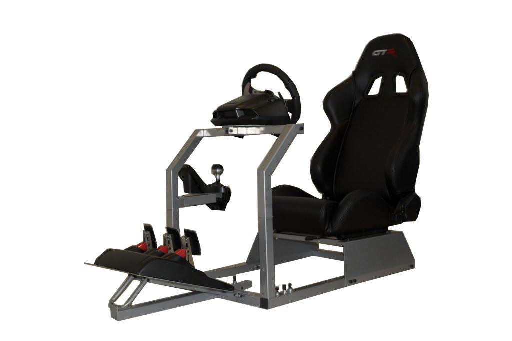 Amazon GTR Simulator GTA Model with Real Racing Seat – Xbox Racing Chair