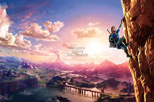 breath of the wild guardian poster