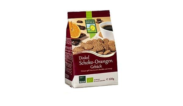 Amazon.com : Bohlsener Mühle Dinkel-Schoko-Orangen-Kekse, 6er Pack (6 x 125 g)  - Bio : Grocery & Gourmet Food
