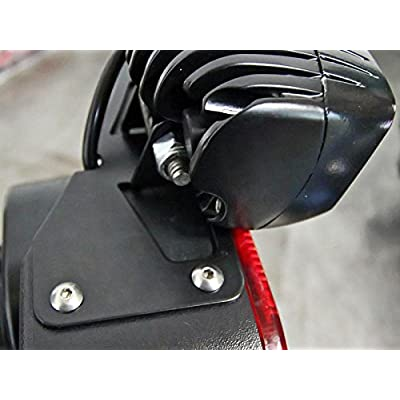 AUXMART Tail Light Mounting Brackets for LED Light Bar Fit Jeep Wrangler JK Unlimited 2007-2020 (1 Pair): Automotive