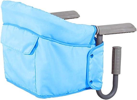 BeeViuc Trona de viaje Mesa Asiento de mesa para beb/é Plegable Trona de Viaje Arn/és de 5 puntos Camuflaje