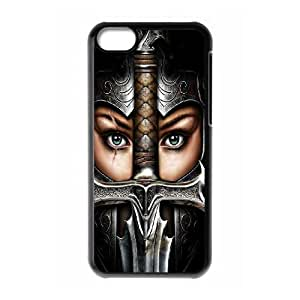 Valkyrie Girl iPhone 5c Cell Phone Case Black WK5280305