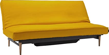 Surprising Habitat Dito 3 Seater Sofa Bed Fabric Yellow Amazon Co Uk Caraccident5 Cool Chair Designs And Ideas Caraccident5Info
