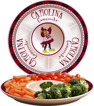 Memory Company NCAA University of South Carolina Game Day 2 Chip n Dip, One Size, Multicolor