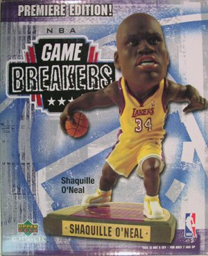 Upper Deck Shaquille Oneal Figurine - 1