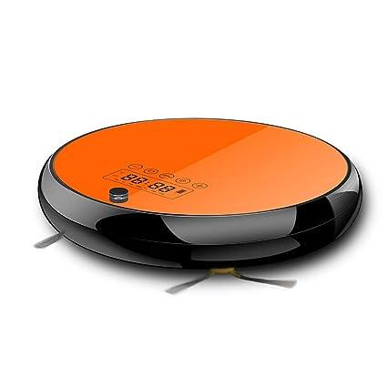 MISJIA Robot Aspirador, Limpieza de hogar automotriz robótica para Limpiar la Alfombra de Piso de