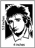 ROD STEWART Stickers Cut Vinyl Decal