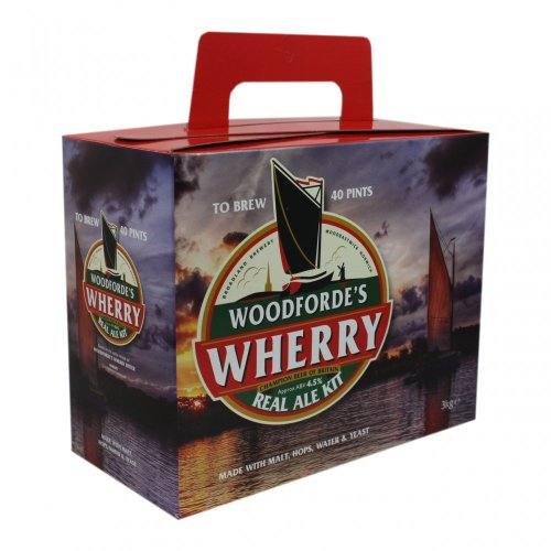 -[ Woodforde's Wherry' Real Ale 40 Pint Homebrew Beer Kit  ]-