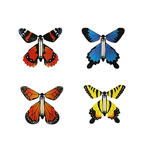 INSECT LORE WIND UP BUTTERFLY (Set of 6)