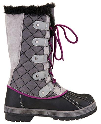 Jenny Grey Boot Waterproof Women's Khombu Winter Snow gABYwa