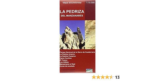 LA PEDRIZA DEL MANZANARES. MAPA EXCURSIONISTA: Amazon.es ...