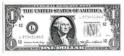 dollar-rent-a-car-federal-reserve-note-one-bill-advertising-item-1986