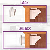 CareMe-1-Magnetic-Locks-for-Cabinets-Drawers-Moms-First-Choice-to-ensure-the-Childs-safety-Awesome-Look-Hidden-Easy-Installation-No-Drills-4-Locks-1-Key
