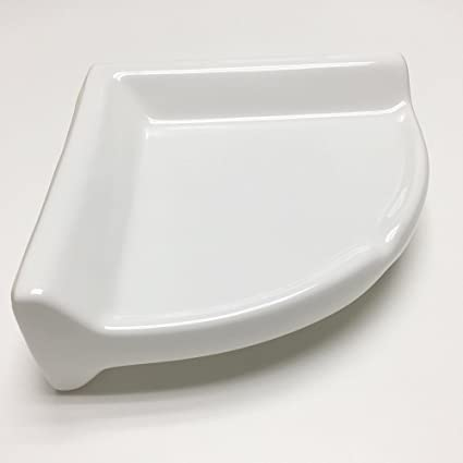 Corner Shower Shelf Large (Ceramic)