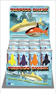 Torpedo Shark Toss Glow In Dark Pool Toy Toys Games