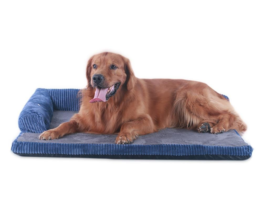 bluee 6858cm bluee 6858cm DAN Dog Bed,Deluxe Orthopedic Memory Foam Sofa Lounge