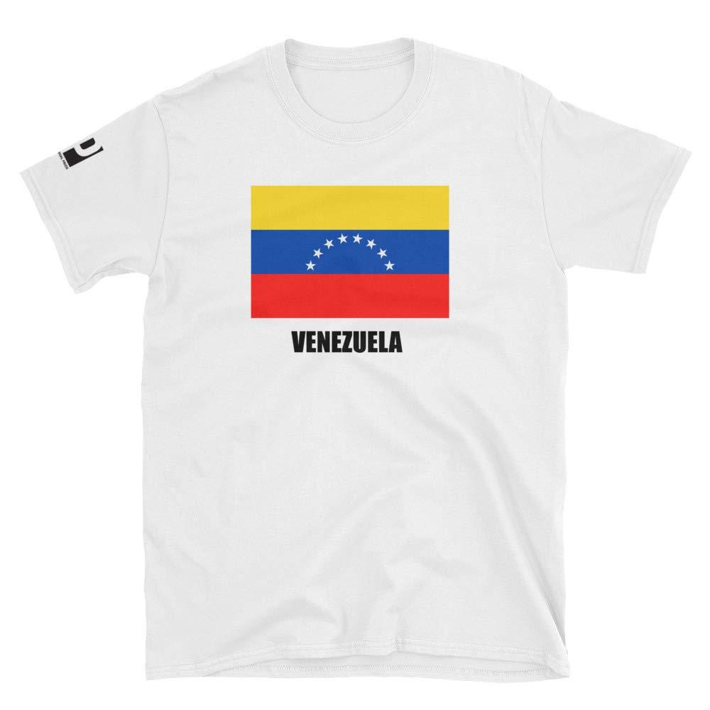 International Pride Venezuela Flag Short-Sleeve Unisex T-Shirt