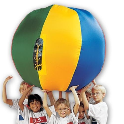US Games Nylon Cageball -Complete- 72'' by US Games (Image #1)