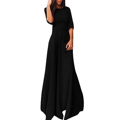 Femme Femme Femme Chic Court Rond Col Reaso Elegant Robe Vintage Vintage Vintage naxB8qnTwC