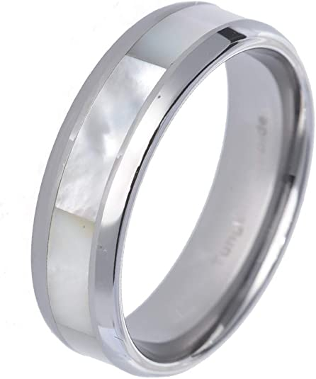 Customisable Your Message Engraved Free 925 Sterling Silver 8 mm Brushed Effect Grooved Lines Wedding Band Ring So Chic Jewels