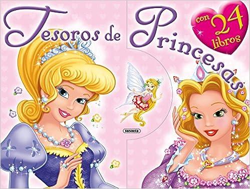 Tesoros de princesas (Mi estuche de libros): Amazon.es: Susaeta, Equipo: Libros