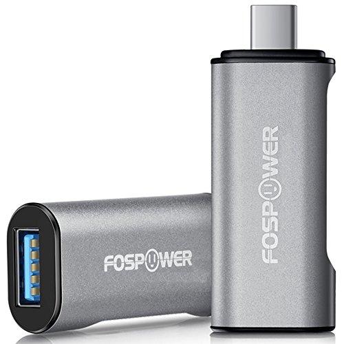 Type C to USB 3.0 Adapter, FosPower USB C to USB 3.0 / Fe...