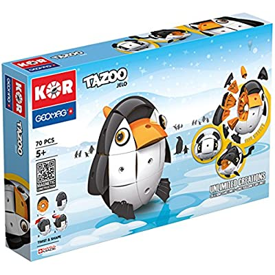 Geomag STEM KOR Tazoo Paco Stacking Toy: Toys & Games