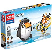 Geomag Kor Tazoo Jelo Construction Toy (70-Piece, Multi-Color) by Geomag