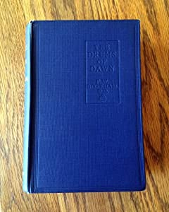 Hardcover The Drums of Dawn F W Boreham 1st Edition Book