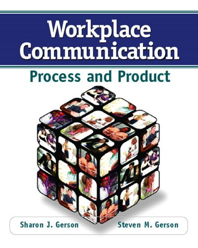 Workplace Communication Process & Product (Paperback, 2006) pdf