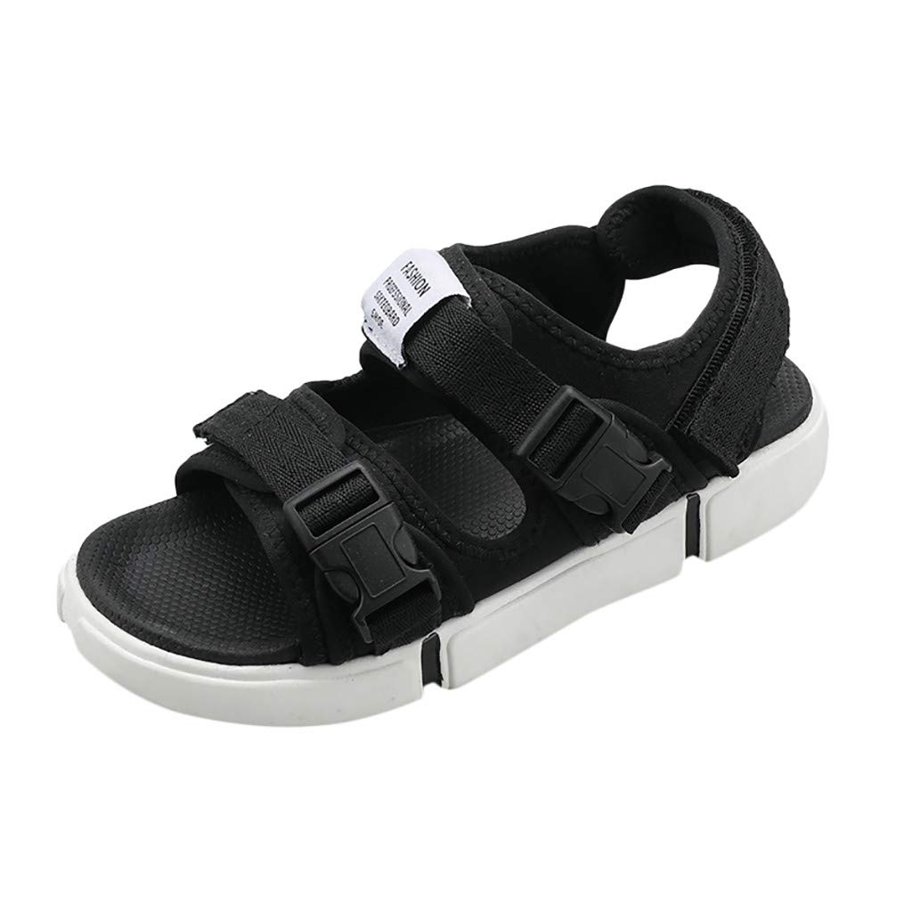 Summer Men Personality Flats Platform Antiskid Non-Slip Sandal Beach Casual Shoe White
