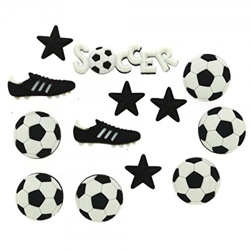 (Dress It Up 418 Soccer Embellishment for)