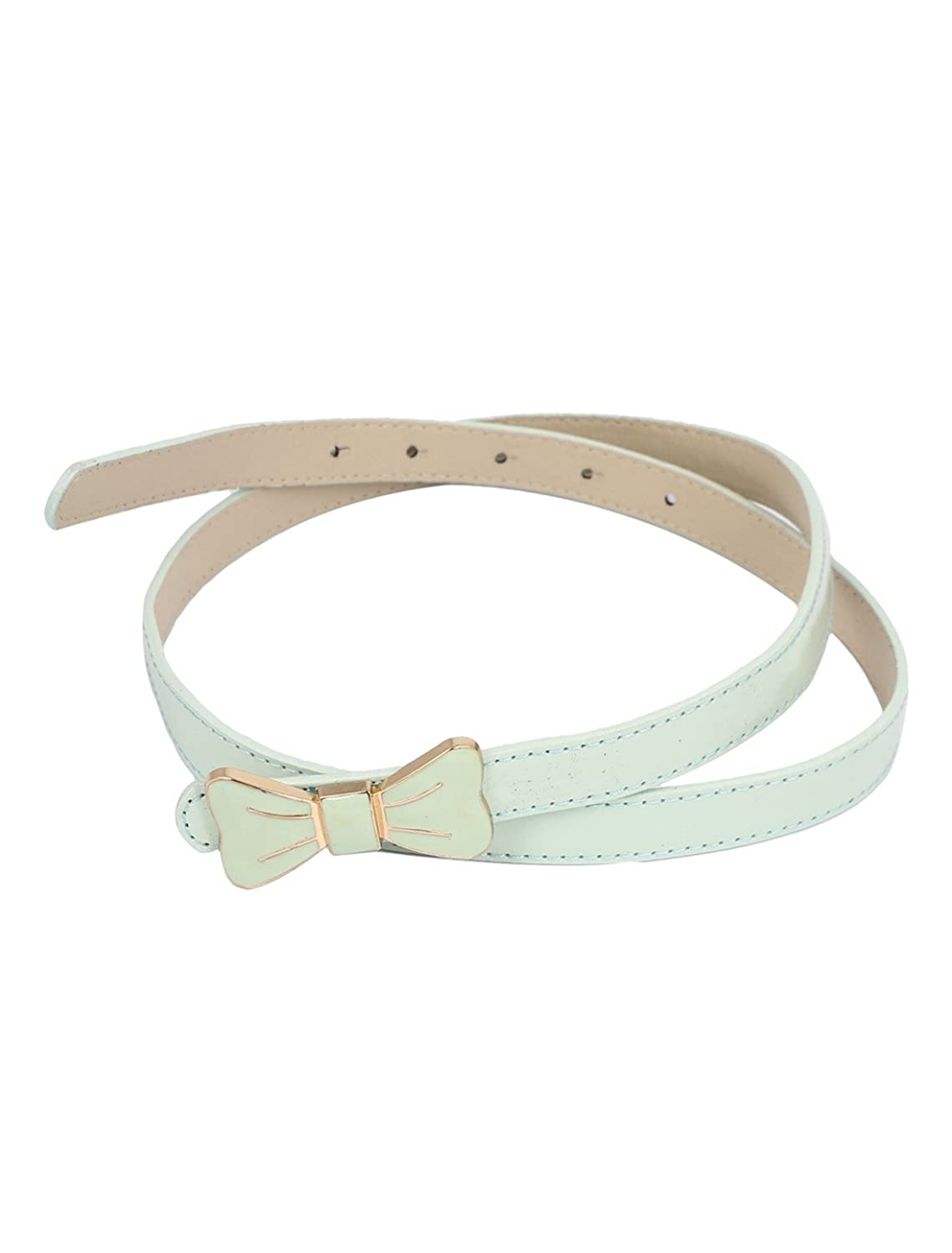 Butterfly Shaped Lady Buckle Waist Belt Waistbelt Green